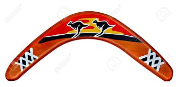 16820552-aborigine-hunting-tool-or-boomerang-from-australia
